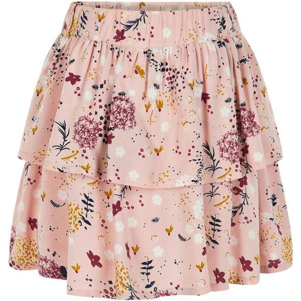 Creamie Autumn Flowers Skirt - Rose Smoke (840139-5506)