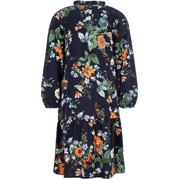 Name It Kid's High Neck Midi Dress - Green/Feldspar (13170450)