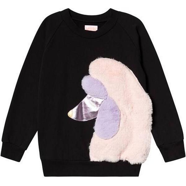 Wauw Capow Posh Poodle Sweatshirt - Black (515733)