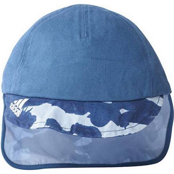 Adidas Neck Flap Keps - Core Blue / White (BP7844)