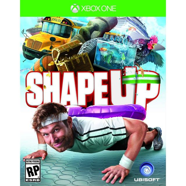 A Runner Shapes Up A Tired Staircase: Shape Up Xbox One • Se Billigste Pris (1 Butikker) Hos