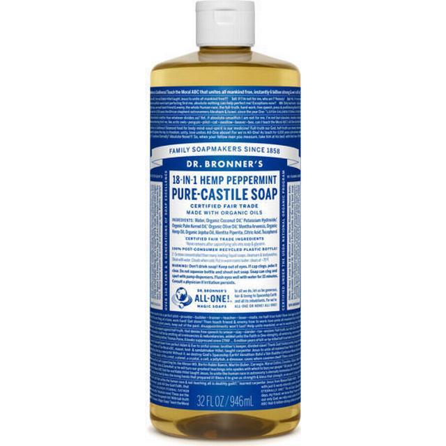 Dr. Bronners Pure-Castile Liquid Soap Peppermint 473ml