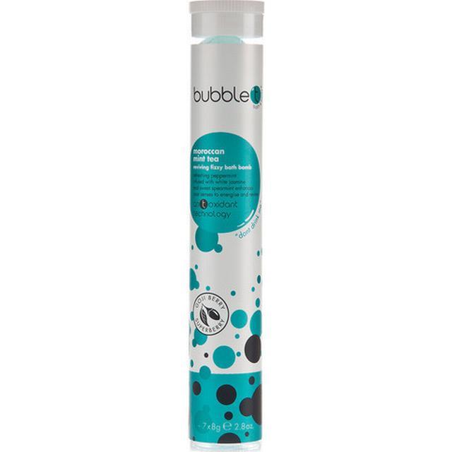 BubbleT Moroccan Mint Tea Reviving Fizzing Bath Bombs 8g 7-pack