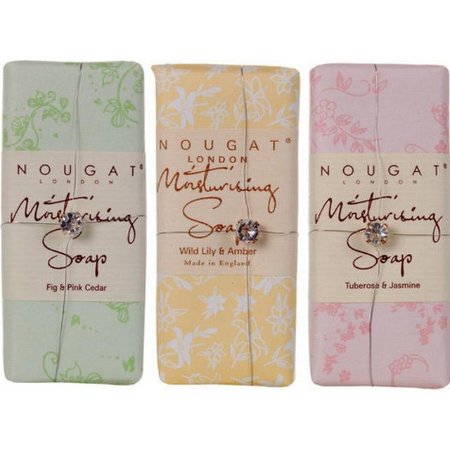 Nougat London Moisturising Soap Fig & Pink Cedar (Green Flower) 100g