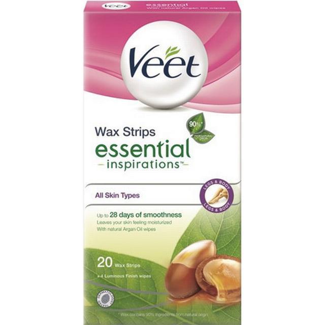 Veet Essential Inspiration Strips Legs 20-pack