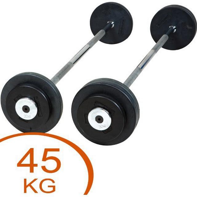 Eurosport Rubber Barbell 45kg