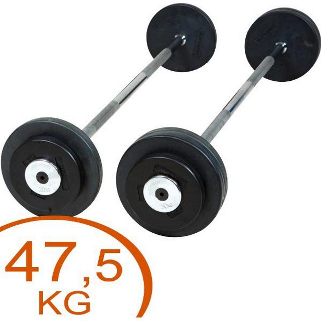 Eurosport Rubber Barbell 47.5kg