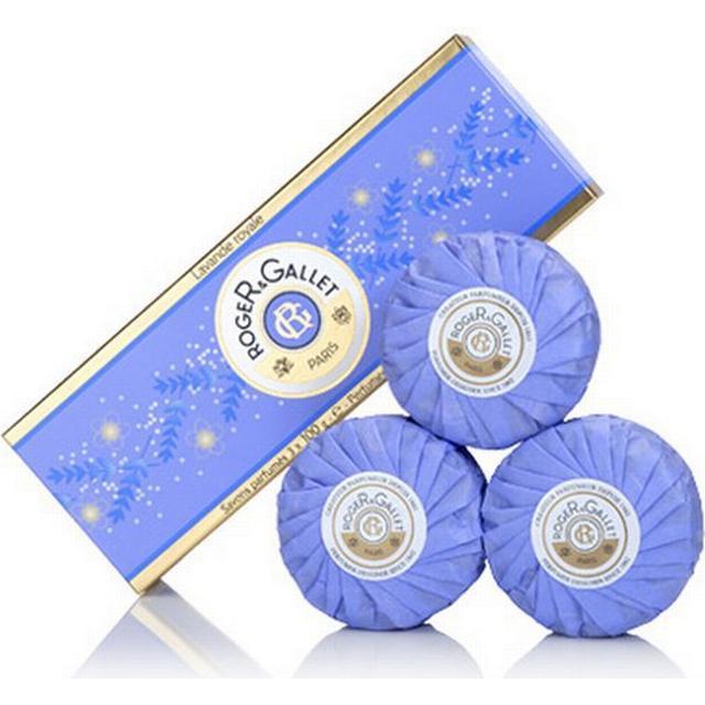 Roger & Gallet Royal Lavender Soap Coffret 3-pack