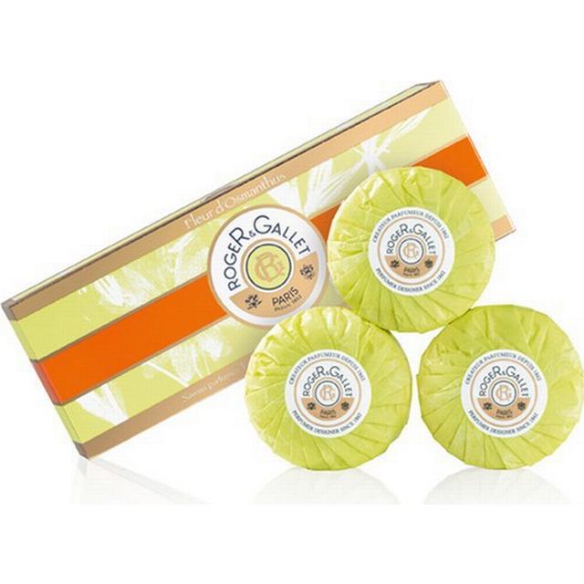 Roger & Gallet Fleur D'Osmanthus Soap Coffret 3-pack