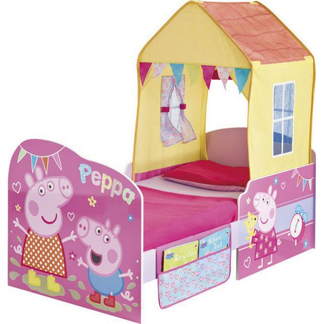 Worlds Apart Peppa Pig StarTime Toddler Bed