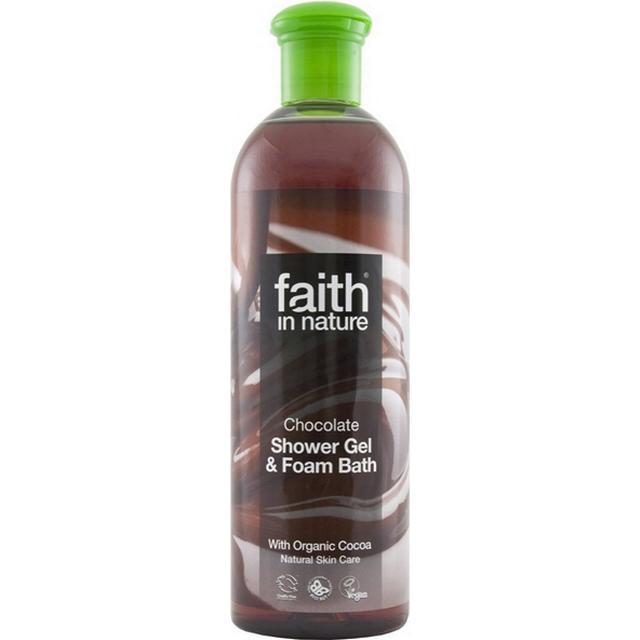 Faith in Nature Chocolate Shower Gel & Foam Bath 400ml