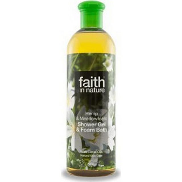 Faith in Nature Hemp & Meadowfoam Shower Gel & Foam Bath 400ml