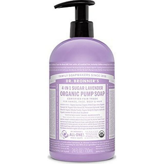 Dr. Bronners Organic Pump Soap Lavender 710ml
