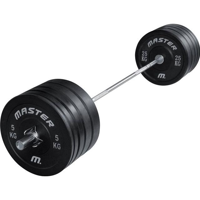 Master Fitness Crossfit Barbell Set 140kg