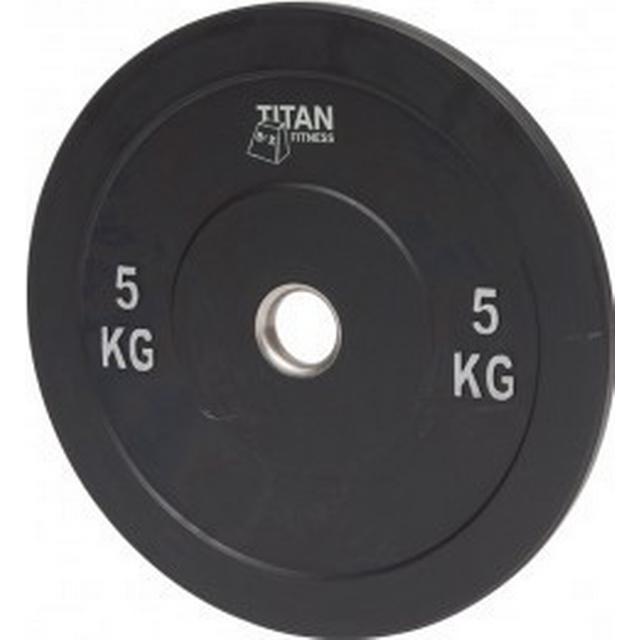 Titan Fitness Rubber Bumper Plate 5kg