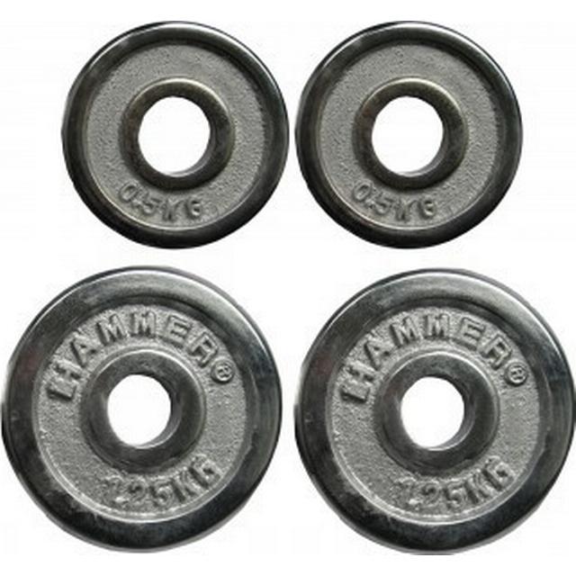 Hammer Weight Plates 2x0.5kg