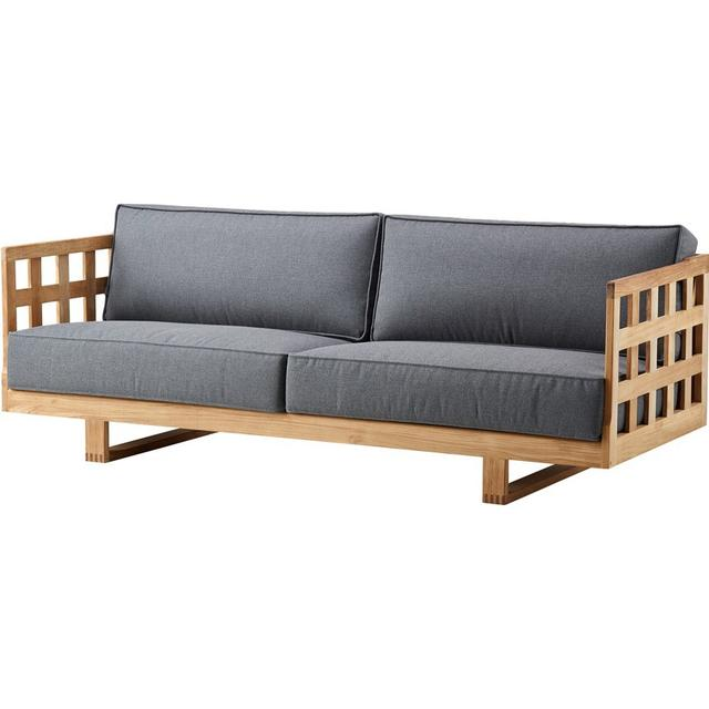 Cane-Line Square 3-seat Havesofa (modul/stk)