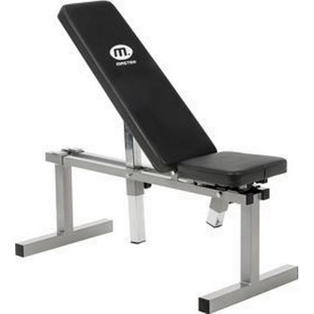 Master Fitness Bench Silver 1