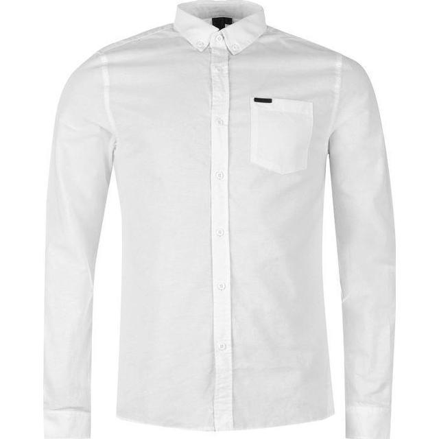 Firetrap Basic Oxford Shirt White