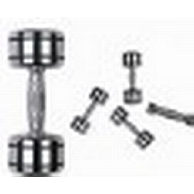 Master Fitness Chrome Dumbbells 8kg