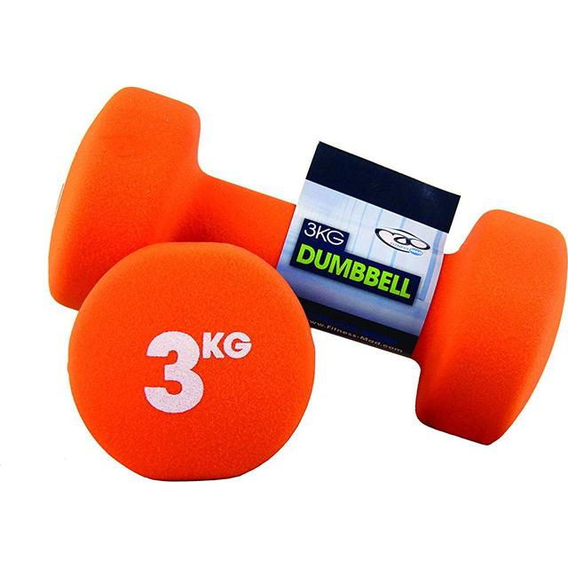 Fitness Mad Neo Dumbbell Pair 2x3Kg