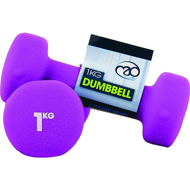 Fitness Mad Neo Dumbbell Pair 2x1kg