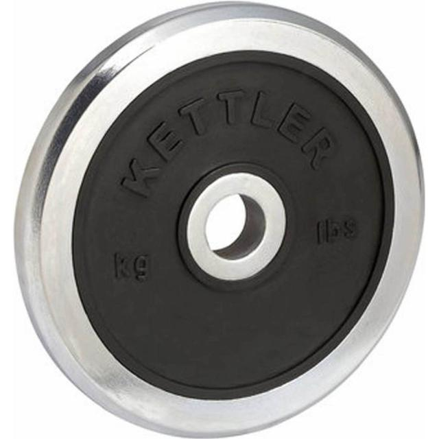 Kettler Chrome Rubber Disc 10kg