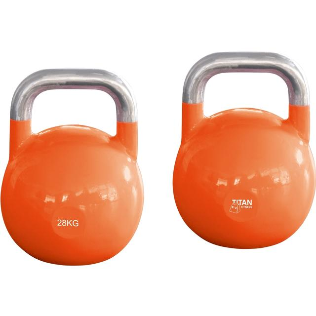 Titan Fitness Box Steel Competition Kettlebell 28kg