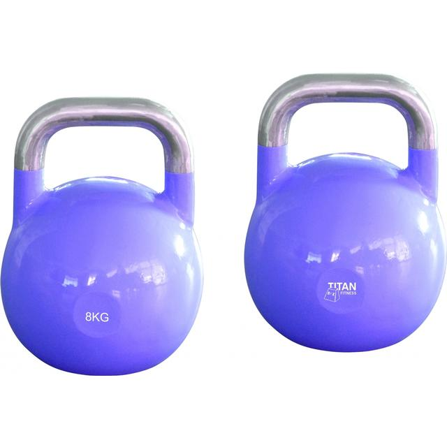 Titan Fitness Box Steel Competition Kettlebell 8kg