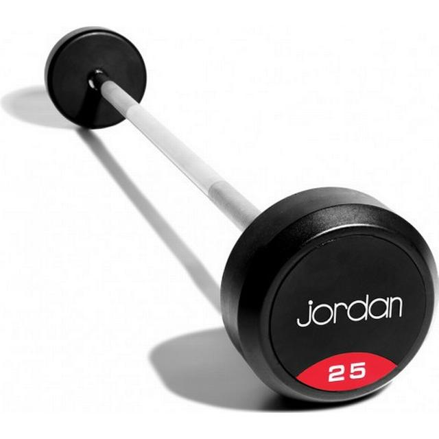 Jordan Solid End Rubber Straight Barbell 25kg
