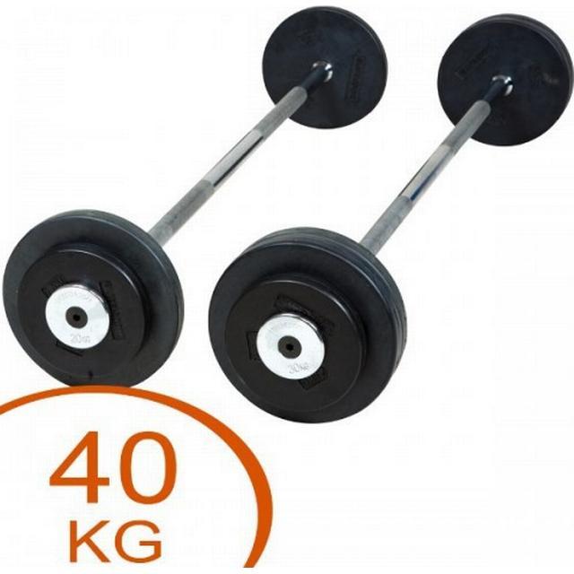 Eurosport Rubber Barbell 40kg