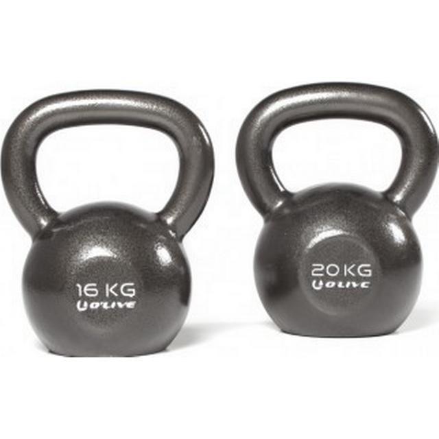 Olive Cast Iron Kettlebell 28kg