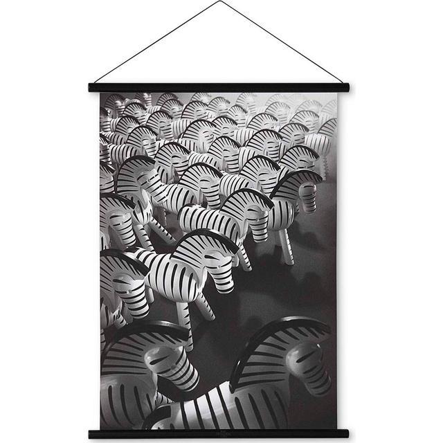Kay Bojesen Zebra foto 59cm Maleri & billede