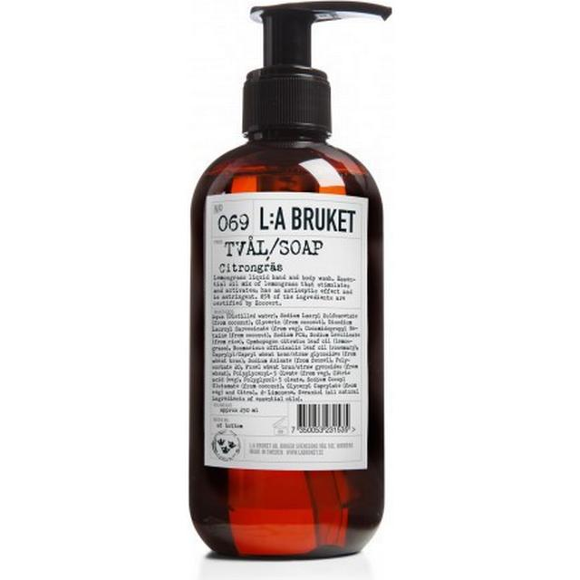 L:A Bruket 069 Lemongrass Liquid Soap 250ml