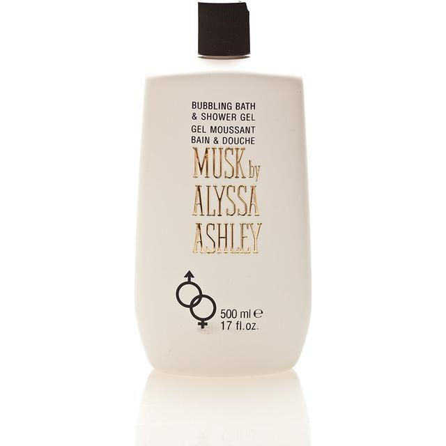 Alyssa Ashley Musk Bubbling Bath & Shower Gel 500ml