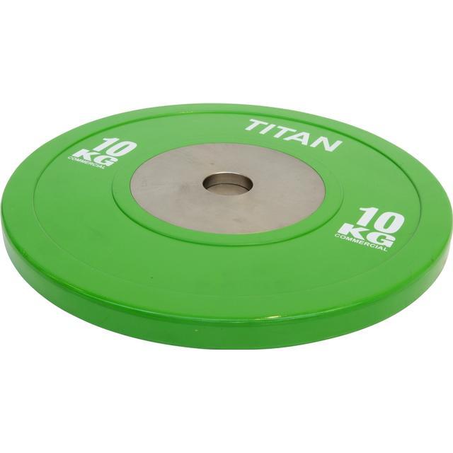 Titan Fitness Elite Bumper Plate 10kg