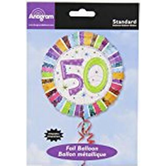 Amscan Standard Radiant Birthday 50 (16071 01)