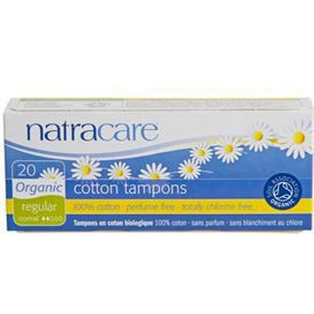 Natracare Tampon Regular without Casing 20-pack