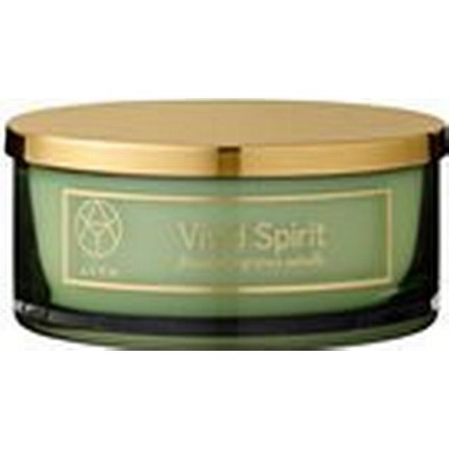 AYTM Vivid Spirit Lemon Ginger & Green Tea 15.5cm Duftlys