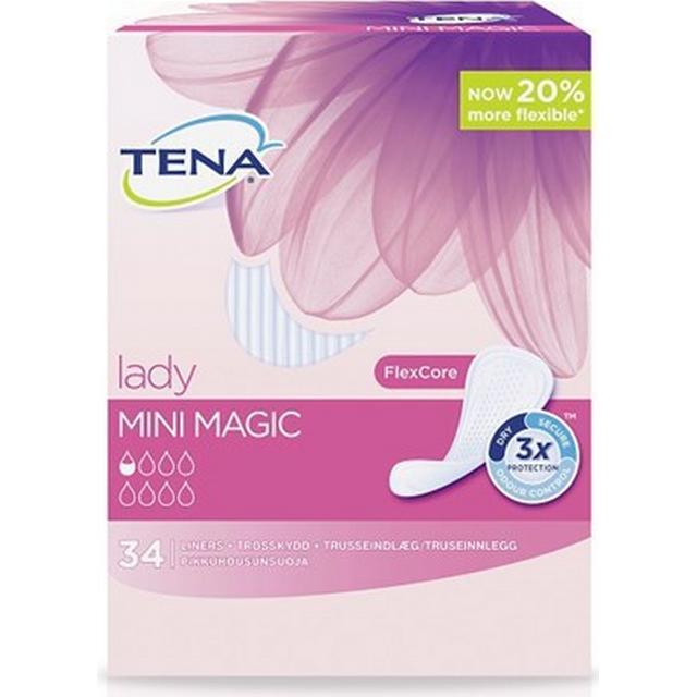 TENA Lady Mini Magic Pantiliners 34-pack