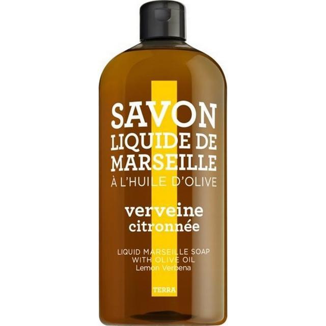 Compagnie de Provence Savon De Marseille Terra Soap Lemon Verbena Refill 1000ml