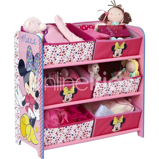 Hello Home Minnie Mouse 6 Bin Storage Unit