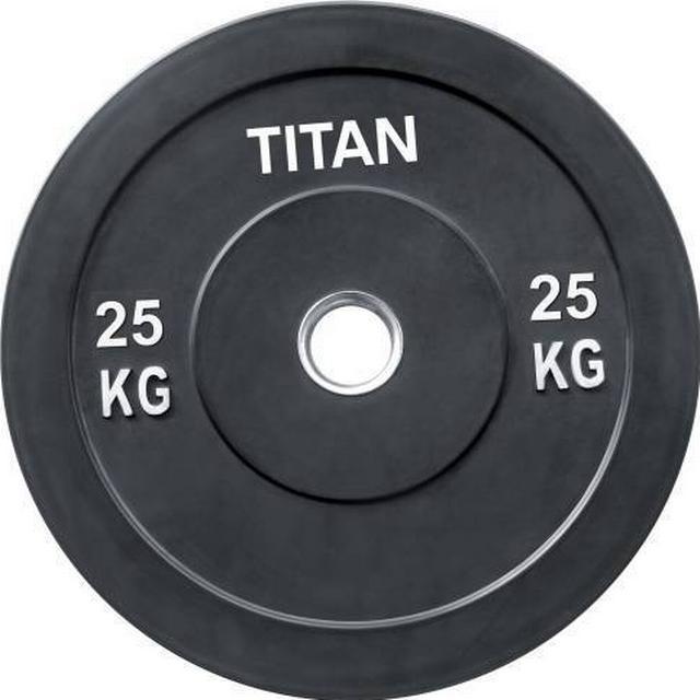 Titan Fitness Box Crossfit Bumper Plate 2x25kg