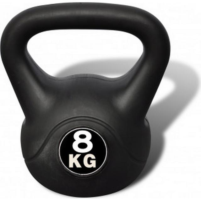 vidaXL Kettlebell Plastic 8 kg