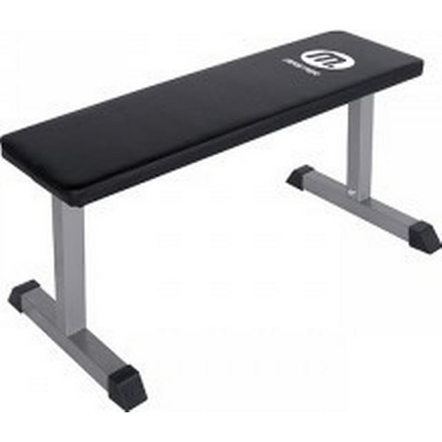 Master Fitness Flat Bench Silver