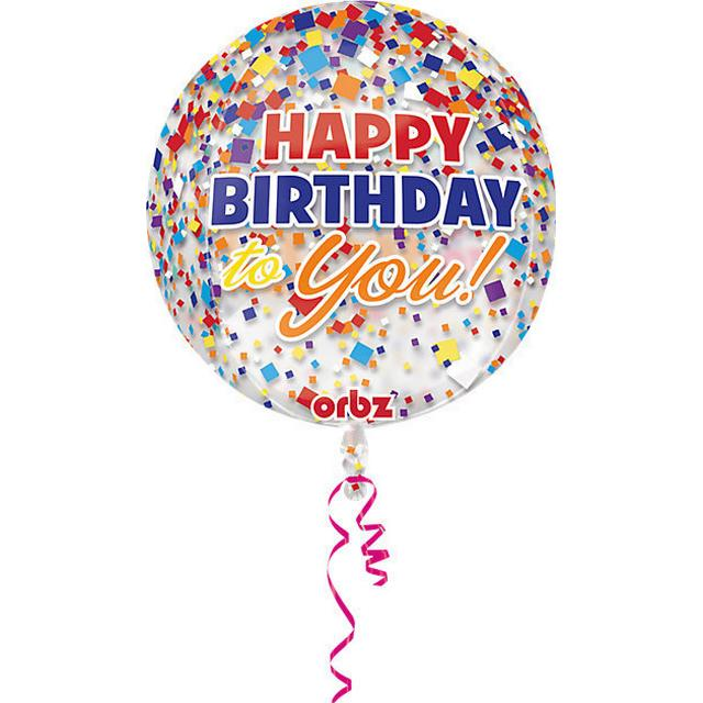 Amscan Happy Birthday Orbz (3067501)