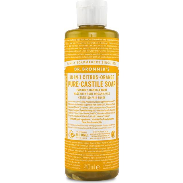 Dr. Bronners Citrus Pure Castile Liquid Soap 240ml