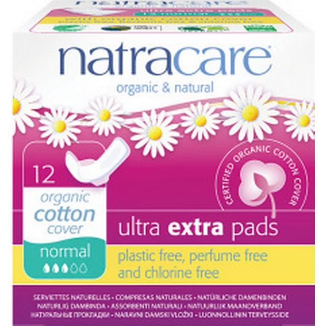 Natracare Ultra Extra Pads Normal 12-pack