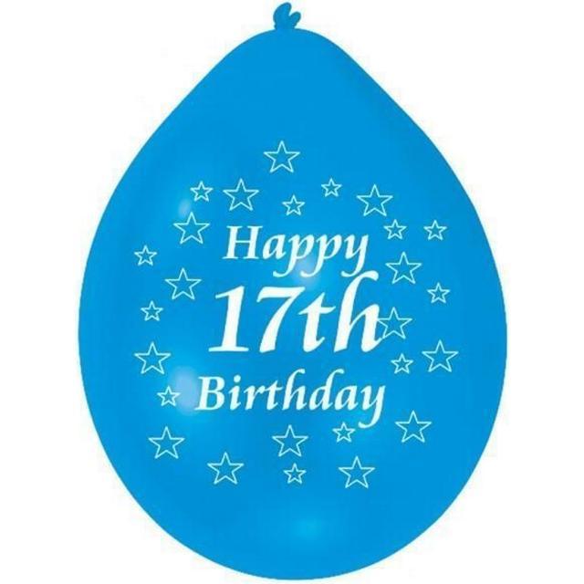 Amscan Happy 17th Birthday (INT995561)