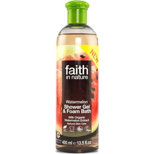 Faith in Nature Watermelon Shower Gel & Foam Bath 400ml